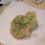 天ぷら新宿つな八 - 芽キャベツ