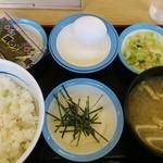 松屋 - 定番朝定食 360円