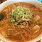 麺屋秀吉 - 野菜を摂りたい時はここにいきます、すごいボリュームです、それで味もいいです( ^_^)/~~~辛口野菜タンタンメン