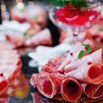 ラグナスイート - イタリア産生ハムなどコールミート盛り合わせ、見た目にも華やかです