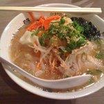 きんしゃい亭 - 野菜ラーメン (650円)