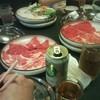 しゃぶ亭まる - 料理写真:今日も・・・ノンアルコールで乾杯です(>_<)