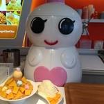 台湾カフェ Zen - かき氷を削るマシーン、キュート❤