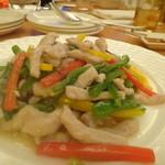 琉華菜苑 - 豚と野菜の炒め