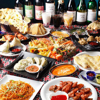 大満足の食べ飲み放題は4,200円でご提供!各種ご宴会に◎