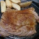 26694593 - ランチメニューの「ステーキ100g」食べ応えアリ!