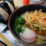 ログキャビン - 麺ランチ¥480-(かき揚げうどん)