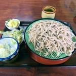 愛樹園食堂 - 料理写真:もりそば 650円