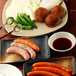 鉄ノ四 - 野菜焼きは170円~ サイドメニューも豊富です
