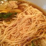 らぁめん家 ロックンロールワン - 麺(2014年4月)
