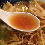 らぁめん家 ロックンロールワン - 比内地鶏のスープ(2014年4月)