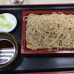 川佐家 - もりそば(500円)