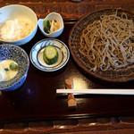 手打蕎麦 たけ田 - せいろセット(900円)