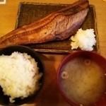 26700467 - 特大ほっけ焼き定食(880円)