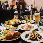 ダイニングキッチン幸福 - 3時間飲み放題+お料理8品 2500円