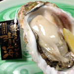 がっしょ出雲 - 隠岐の島産ブランド岩牡蠣『清海』