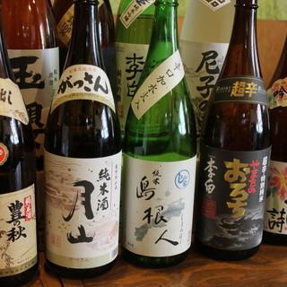 島根の地酒の数々!