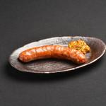 牛タン焼専門店 司 - ドイツ職人仕込みの牛タンフランク(もち&チーズ入)