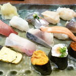 26708366 - おまかせ握り寿司