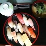 はじめずし - 料理写真:平日限定  「はじめAセット」990円