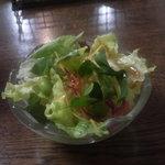 オリーブハウス - Bセットのサラダ