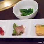 焼肉&ステーキ 格之進R - 前菜【2014年4月】