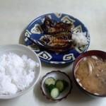 宝軒 - サンマひらき定食