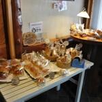 アイム - テーブル上のパン