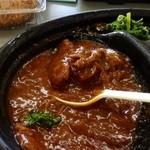 肉のサンアイ - タンシチュー弁当