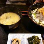 海人市場 - 日替わりランチの生しらす丼