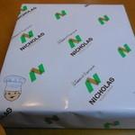 ニコラス洋菓子店 - 包装紙