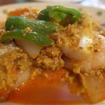 アジア食堂 ココナッツ - カレー風味。 それほど辛く無いが、やはりタイの味。