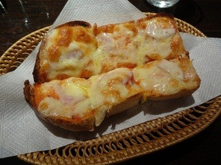 珈琲譚 - ベーコンチーズトースト