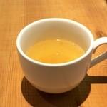 ひょうごイナカフェ - 野菜のスープが付きます