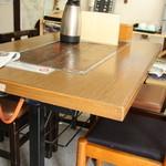 めはり本舗・三軒茶屋 - テーブル