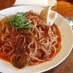 イタリ庵 - トマトの激辛スパゲッティー