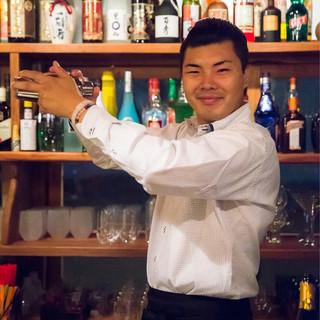 お客様好みのカクテルを沖縄テイストでお創りします