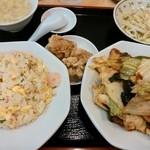 26721505 - 昼定食·回鍋肉定食650円白飯→炒飯変更+150円☆4/28