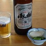 和泉食堂 - 料理写真:ビール大瓶 550円