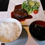 26722843 - 松阪牛ハンバーグランチ980円