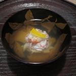 26724051 - 椀物 松葉蟹の団子 柚子乗せ