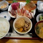助六 - 刺身定食1500円