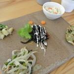 Oomurokeishokudou - 本日の前菜