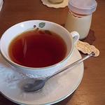 Community Cafe ♭ - ランチセットの紅茶