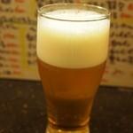 こうてい麺 大ちゃん - 生ビール