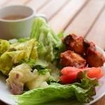 ICHIRIN grill sakura - ランチのサラダ