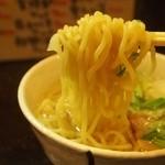 こうてい麺 大ちゃん - ミニ塩ラーメン 麺