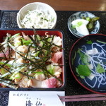 海仙 - <'14/04/29> ほっきめし定¥1620