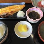 いかやき 福寿草 - 福寿草定食
