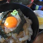 いかやき 福寿草 - いかさし丼